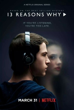 Thirteen Reason Why - locandina Netflix