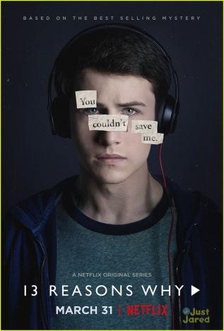 Thirteen Reasons Why teen drama Netflix